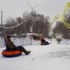 В главном парке Омска к зиме появится еще один аттракцион