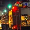 Омские пожарные три часа тушили крышу барака