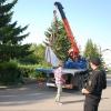 Приставы заставили убрать мэрию Омска памятные камни на бульваре Мартынова