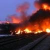 Произошел взрыв на железной дороге в Новосибирской области
