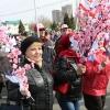 В День Весны и Труда омичи прошли под лозунгом: «За достойную работу, зарплату и жизнь!»