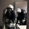Омские пожарные спасли двух малышей
