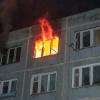 В Омске горел 14-этажный дом