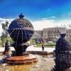 Омские фонтаны включены ради праздничной недели
