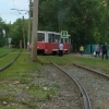 Трамвай и троллейбус попробовали свернуть со своего пути в Омске