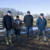 Бурков посетил север Омской области в период весеннего бездорожья