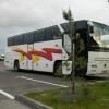 Омские автоинспекторы обнаружили нарушения у автобусов, перевозящих детей в летний лагерь