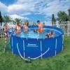 Преимущества каркасного бассейна перед надувными