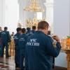 Омские спасатели МЧС полагаются на помощь Бога при пожаре