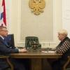 Касьянова рассказала Буркову, на что чаще всего жалуются омичи