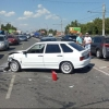 В массовом ДТП в Омске на Енисейской пострадали 2 девушки