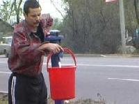 Сельчане устроили водоразбирательство
