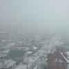 Утренний туман в Омске стал объектом для фотосъемки