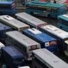 Омская дорожная полиция забраковала три тысячи автобусов и маршруток
