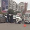 В Омске на 70-летия Октября «скорая» на буксире попала в массовое ДТП