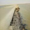 В Омской области за 10 дней спасут дорогу от разрушения водой