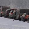 Омичи могут попасть в пробку на границе с Казахстаном
