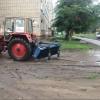 В частном секторе Омска дороги ремонтировали до последнего погожего дня