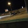 В Омске Honda влетела в бетонное ограждение