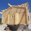Преимущества клееного бруса при постройке дома
