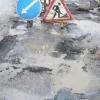 За минувшие сутки в Омске отремонтировано более двух тысяч квадратных метров дороги
