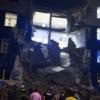 В Омске обвалилось казарменное учреждение учебного центра ВДВ: девять человек погибли
