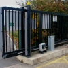 Этапы установки откатных ворот