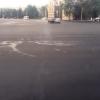 В Омске первым слоем асфальта закатали более 115 000 квадратных метров дорог