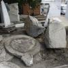Корбут предложил дизайнерски расставить камни на Аллее литераторов в Омске