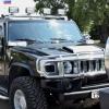В честь Дня флага РФ по Омску проехала колонна Hummer