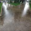 После дождя Омск продолжает разрушаться