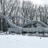 В омских парках могут заменить ледяные горки на металлические