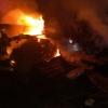В Омске пожарные успели спасти собаку