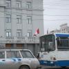 В центре Омска убрали выделенную полосу для автобусов