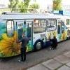 Юные омичи раскрасят троллейбусы