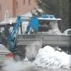 За выходные в Омске убрали лед и снег с 205-ти остановок