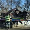 В ДТП на перекрестке в Омске «семёрка» превратилась в металлолом