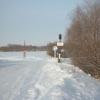 В Черлакском районе Омской области закрывается ледовая переправа