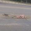 Из-за ремонта дороги на Красном Пути в Омске появились опасные ямы