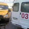 В Омске столкнулись две маршрутки
