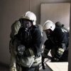 В Омске пожарные спасли 12 человек из горящей многоэтажки
