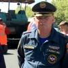 На Красноярском тракте побывал лично глава МЧС по Омской области