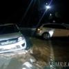 В центре Омска «Лада» столкнулась с «Маздой СХ7»