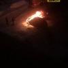 В Омске сгорела Infinity
