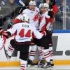 Омский «Авангард» победил в матче с московским «Динамо» в буллитной серии
