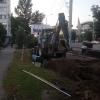 Установкой второй «теплой остановки» в Омске занимаются на Красном Пути