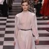 Омская модель представила коллекцию Dior в Париже