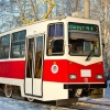 Модернизированный за 4 млн рублей трамвай вышел на маршрут в Омске