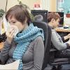 Омичи опасаются заразиться гриппом от непривитых коллег