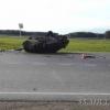 На трассе в Омской области перевернулась машина с пьяным водителем